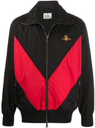 Vivienne Westwood Embroidered Logo Jacket