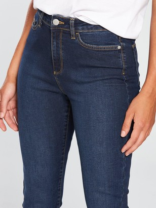 Very Short Isabelle High Rise Slim Leg Jeans - Dark Wash