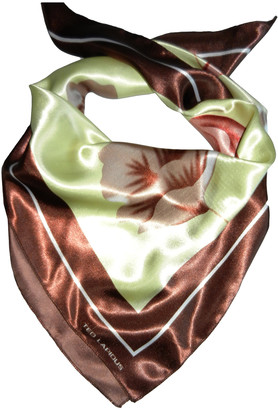 Ted Lapidus Gold Polyester Scarves