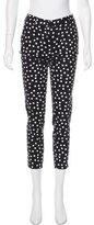 Dolce & Gabbana Polka Dot Print Skinny Pants