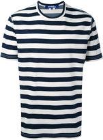Junya Watanabe Comme Des Garçons Man - striped T-shirt - men - Cotton/Polyester - S