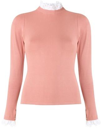Martha Medeiros Explosao knitted blouse