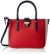 Tommy Hilfiger Th Heritage Tote Cb, Women's Tote, Weiß (Corporate), 10 x 24 31 cm (wxhxd)