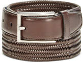 Ryan Seacrest Distinction Ryan Seacrest Men's Leather Stretch Braided Dress Belt, Created for Macy's