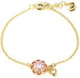 Juicy Couture Enamel Flowers Wish Bracelet