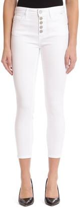 Mavi Jeans Tess Button Fly Super Skinny Jeans