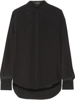 Joseph Pleated silk shirt