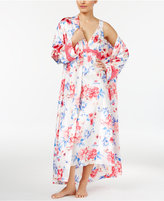 Thalia Sodi Floral-Print Long Wrap Robe, Only at Macy's