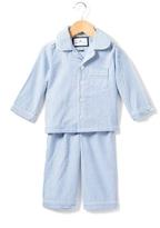 PETITE PLUME Blue Seersucker Pajamas