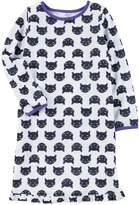 Carter's Girls 4-14 Halloween Cat Print Nightgown
