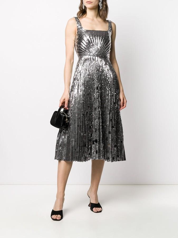Thumbnail for your product : Marco De Vincenzo Sequin Midi Dress