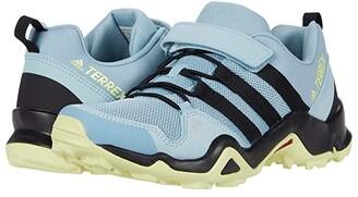 adidas Outdoor Kids Terrex AX2R CF (Little Kid/Big Kid) (Ash Grey/Core Black/Yellow Tint) Girls Shoes