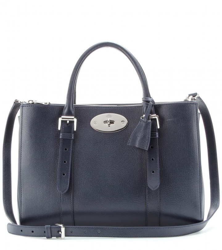 Mulberry Bayswater Double Zip leather tote