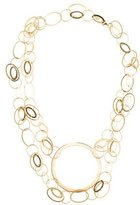 Lana 14K Interlocking Circles Chain Necklace