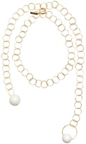 Marni Sphere-embellished chain necklace
