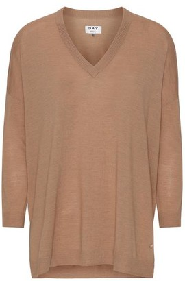 DAY Birger et Mikkelsen Whitney India V Neck Knit - xsmall