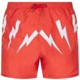 Neil Barrett Thunderbolt Swim Shorts