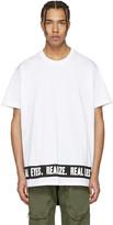 Givenchy White 'Real Eyes' T-Shirt