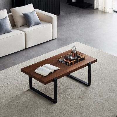 Thumbnail for your product : Loon Peak Lyndsey Metal Sled Coffee Table