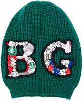 Blugirl embellished beanie - women - Wool - One Size