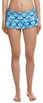 LaBlanca La Blanca Women's True Blue Ruffle Skirted Hipster Bikini Bottom