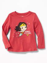 Old Navy DC Comics Wonder Woman Tee for Toddler Girls