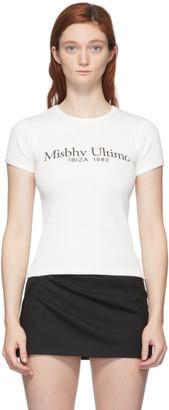 Misbhv Off-White Ultimo T-Shirt