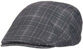 Levi's Men's Plaid Flat-Top Ivy Cap