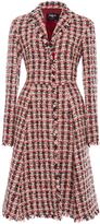 Paule Ka Tweed Dress Coat