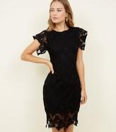 New Look AX Paris Crochet Bodycon Dress