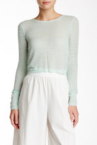 Alice + Olivia Textured Long Sleeve Sweater