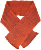 Issey Miyake pleated scarf - women - Silk/Polyester/Polyurethane - One Size