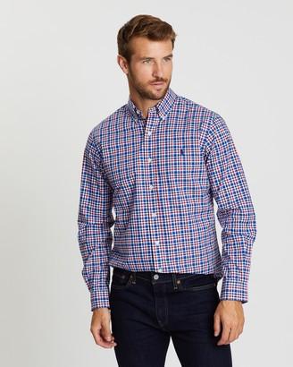 Polo Ralph Lauren Stretch Poplin Custom Fit Shirt