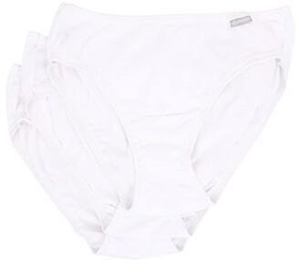 Jockey Elance(r) Bikini 3-Pack (White/White/White) Women's Underwear
