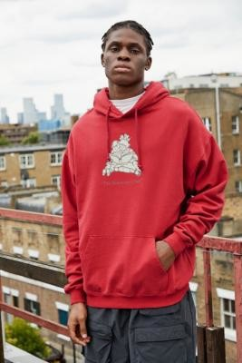 Urban Outfitters The Discovery Club Hoodie - Orange S at