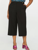 ELOQUII Plus Size High-Waisted Culotte