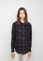 Isabel Marant Kenzie Wooly Check Shirt