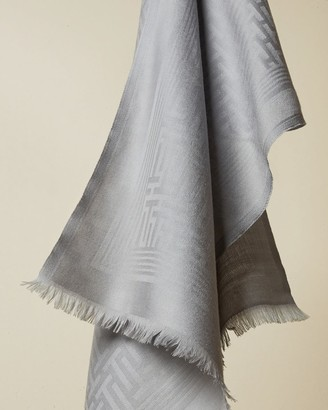 Ted Baker Long Plain Knitted Wool Scarf