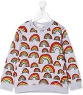 Stella McCartney rainbow print sweatshirt