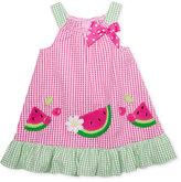 Good Lad Seersucker Watermelon Dress, Little Girls (2-6X)