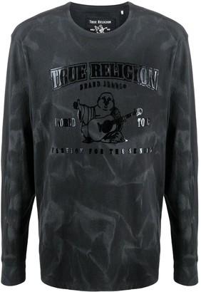 True Religion tie-dye long-sleeve T-shirt
