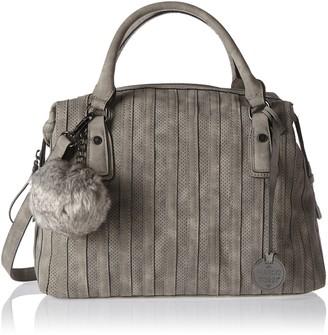 Marco Tozzi Women 2-2-61018-29 Handbag Grey Size: 38x26x16 cm