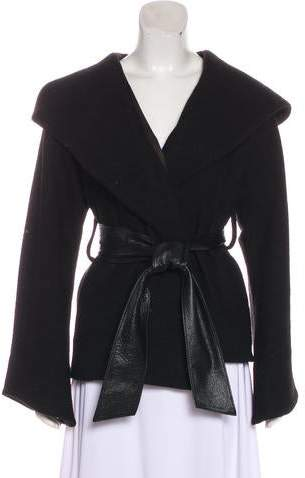 Wool Belted Jacket