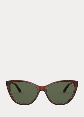 Ralph Lauren Logo Cat-Eye Sunglasses