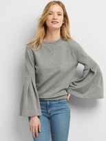 Gap French terry bell sleeve sweater