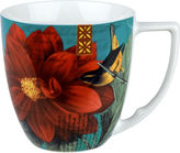 Dahlia Impressions Set of 4 Mugs