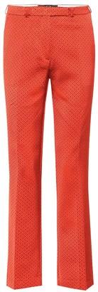 Etro Satin jacquard pants