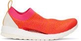 adidas by Stella McCartney Pink Pure Boost X Sneakers