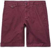 Incotex - Slim-fit Stretch-cotton Shorts