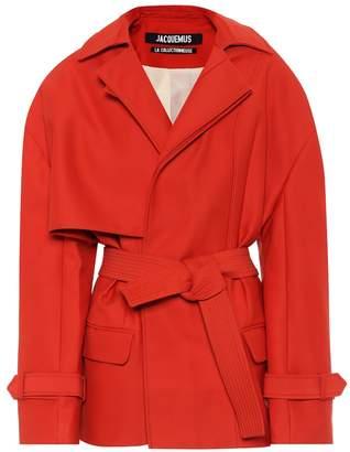 Jacquemus Le Manteau Carini belted coat